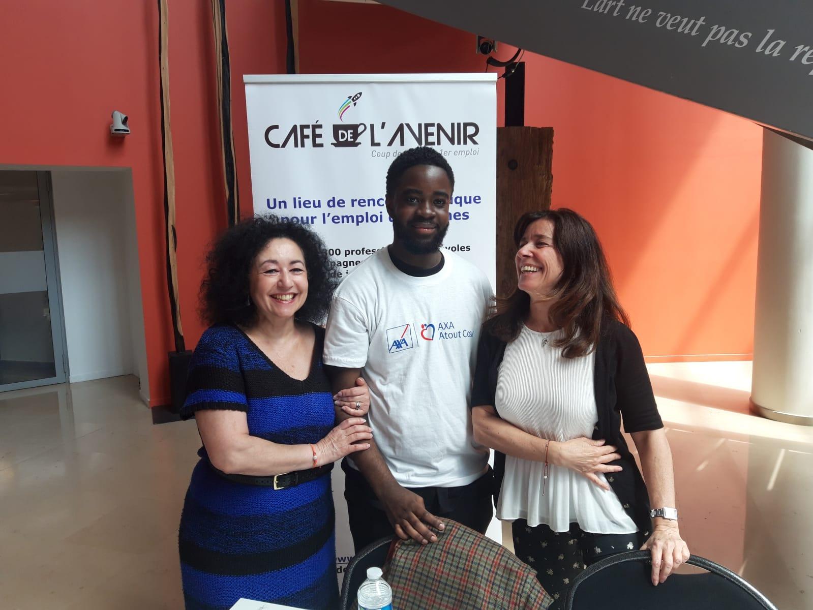 Le Café de l'Avenir s'engage auprès d'AXA Atout Cœur